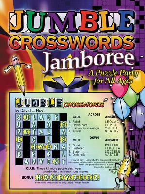 Jumble Crossword Jamboree By Hoyt, David L.